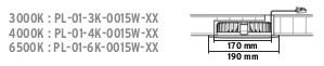 Spot LED incastrabil 15W,1500lm,lumina zilei(4000k),IP40 [0]