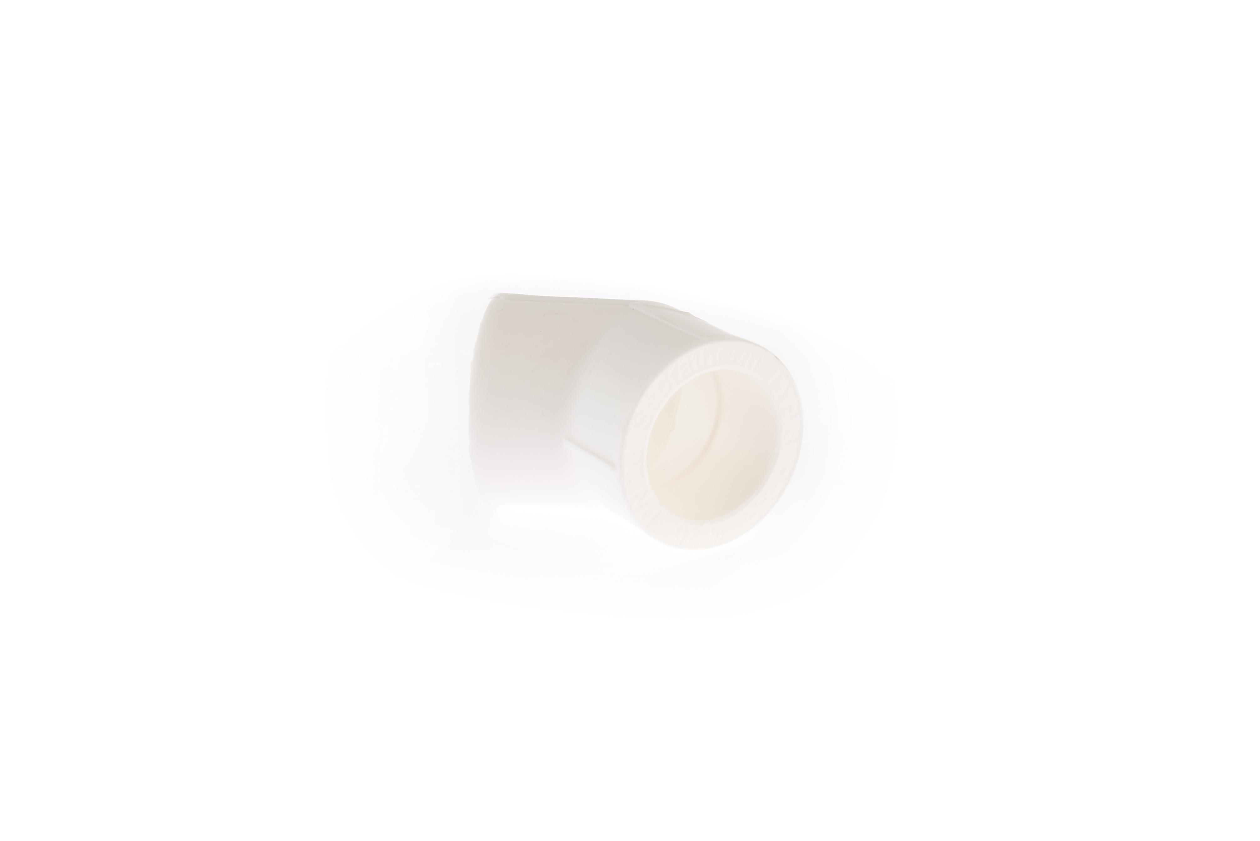 Cot PPR alb 45 grade 25 x 25 [1]