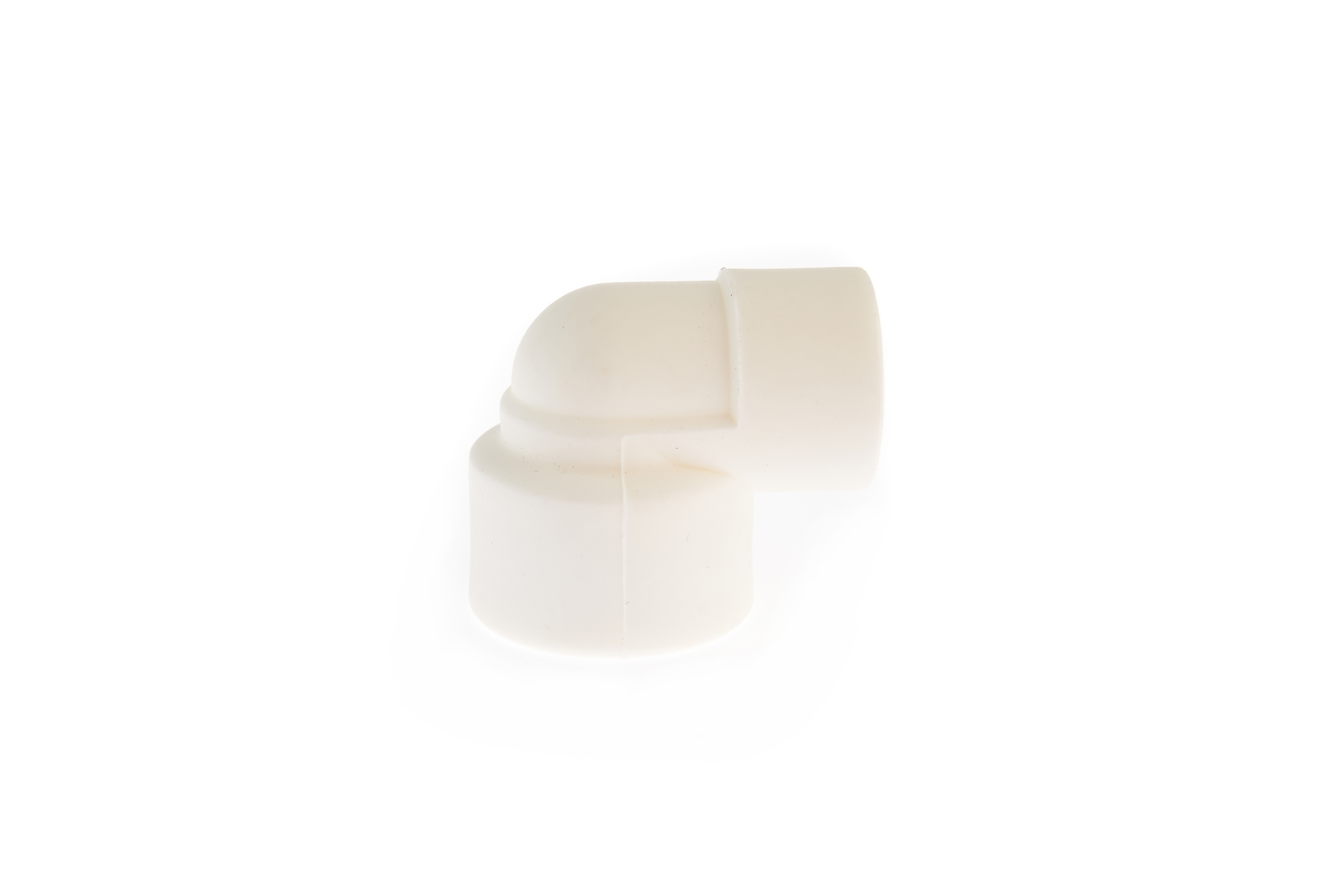 """Cot PPR alb 90 grade 20x1/2""""  filet interior [1]"""