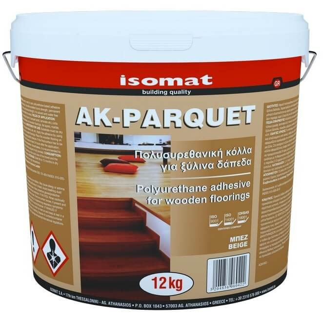 Adeziv Poliuretanic pentru Pardoseli din Lemn, Ak-Parquet, 12 kg [0]