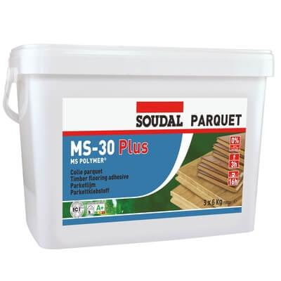 Adeziv Silanic Pentru Parchet MS-30P, Soudal, 18 kg [0]