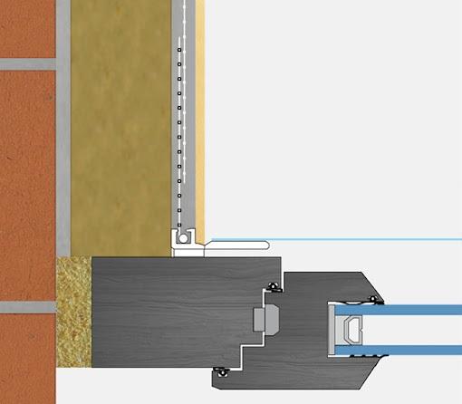 Anputzleiste NH - Profil Conexiune Tamplarie, 2.4 m [2]