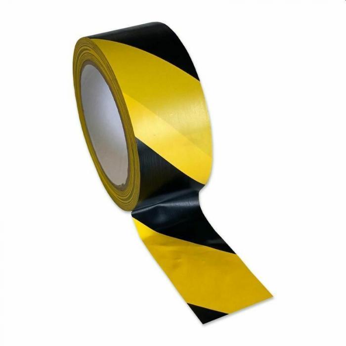 Banda de Avertizare Autoadeziva, Rezistenta la Intemperii Warning Tape 50 mm x 33 m [1]