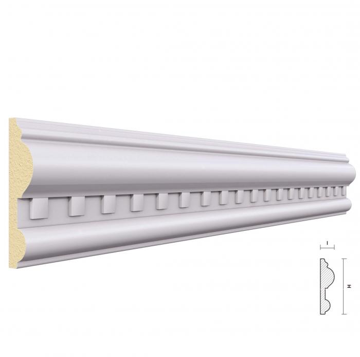 Brau din Poliuretan BR7 80 x 20 mm, 2 m [0]
