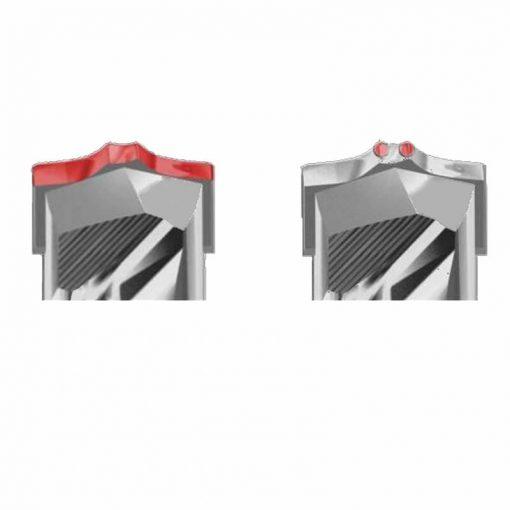 Burghiu Pentru Beton, Caramida, BCA, Bionic Pro SDS PLUS, Ø 8 mm [2]