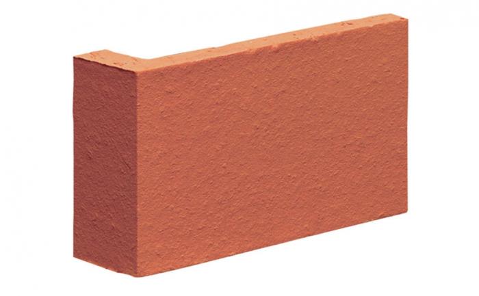 Coltar Ceramic Klinker 01 Ruby-Red / Natural 120/35 x 65 x 10 mm [0]
