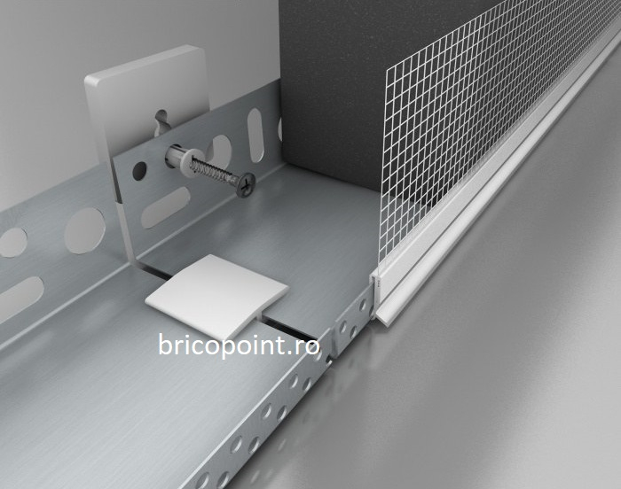 Conector PV30 pentru Imbinare Profil de Soclu din AL, 100bc/pg [1]