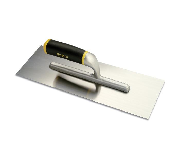 Dekor Gletiera cu Maner Deschis din Aluminiu/Cauciuc, 300 mm 0
