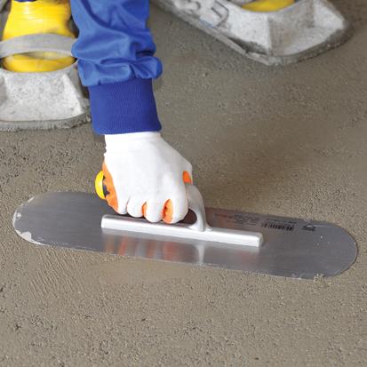 Dekor Gletiera cu Maner Deschis din Aluminiu/Cauciuc pentru Nivelare si Finisare, 120x450 mm 2