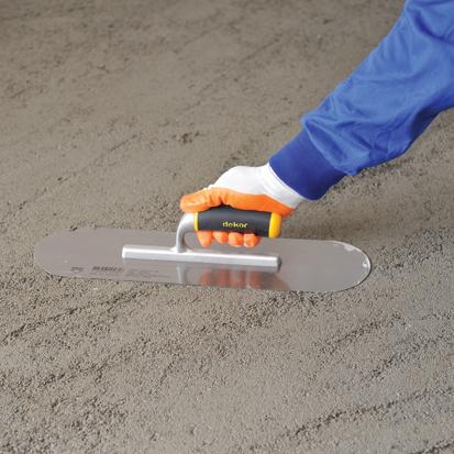 Dekor Gletiera cu Maner Deschis din Aluminiu/Cauciuc pentru Nivelare si Finisare, 120x450 mm 3