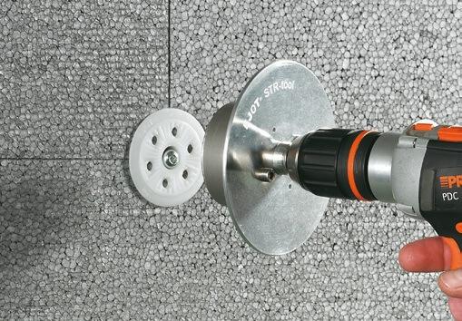 ejotherm STR U 2G Diblu pentru Fixari Termoizolatii in Beton, Caramida, BCA 2