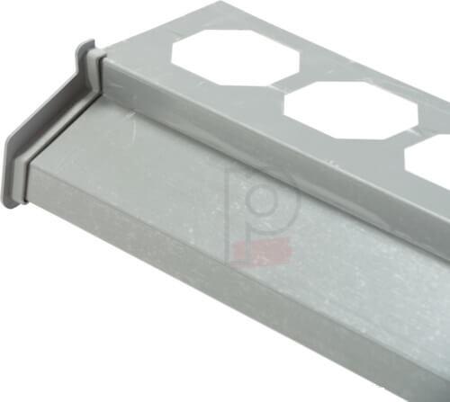 Endstuck Zum Balkonprofil Anthrazit - Element inchidere Profil Picurator Balcon Antracit(set 2bc) [2]