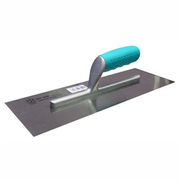 Gletiera Inox Cu Maner Deschis, Ergonomic si Cauciucat 845/I, 360 x120 x 0.6 mm [0]