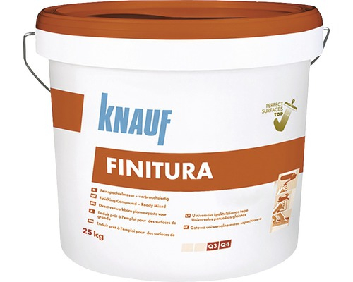 Knauf Finitura Glet Gata Preparat, 25kg 0