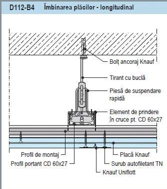 Knauf Piesa pentru Suspendare Rapida CD60 [2]