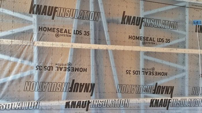 Knaufinsulation Homeseal LDS 35, 1.5x50m, 75mp/rola - Bariera de Vapori Multistrat Armata 1