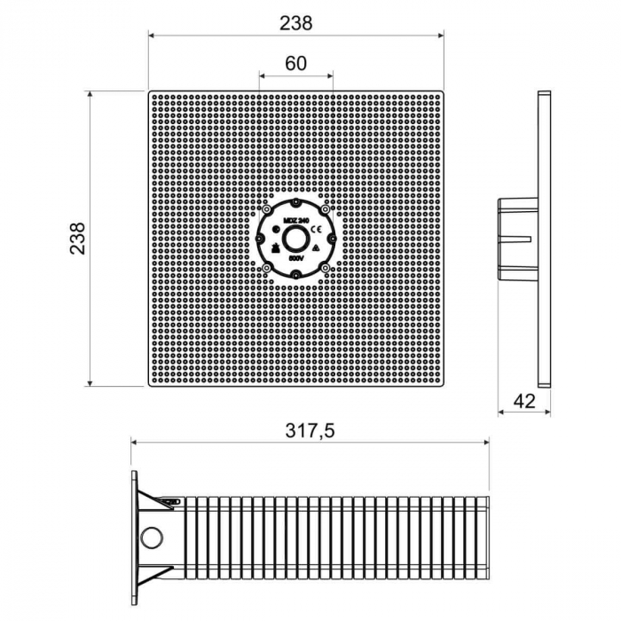 MDZ XL_300 Platforma Suport pentru Montaj in Termosistem [2]