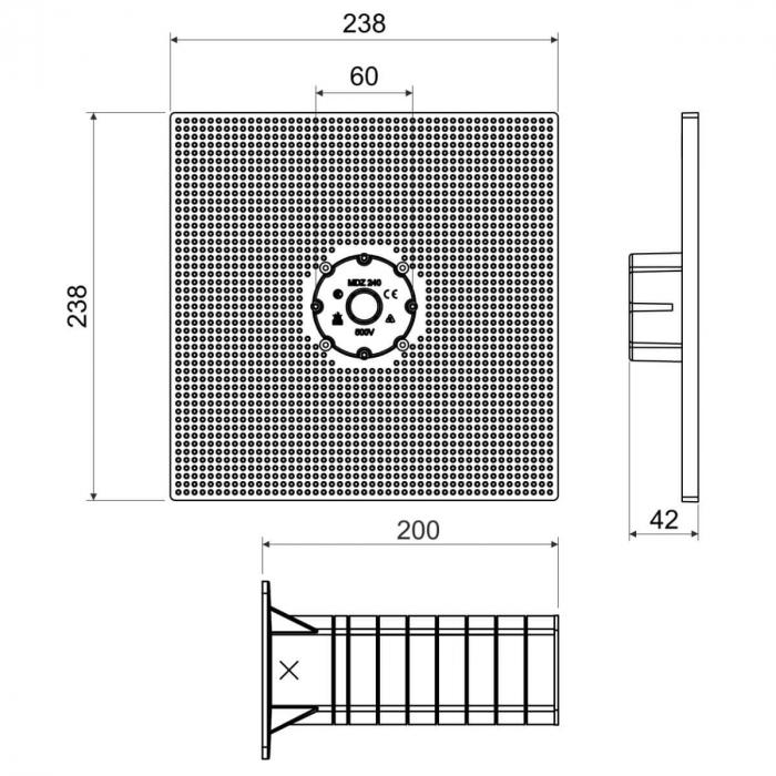MDZ XL Platforma Suport pentru Montaj in Termosistem [2]