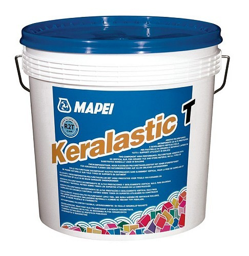 Adeziv Poliuretanic Bicomponent, Hidroizolant, Keralastic T 10 kg [0]
