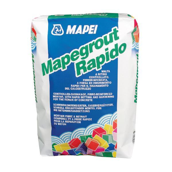 Mapei Mapegrout Rapido Mortar Fibroranforsat, cu Priza Rapida, 25kg 0