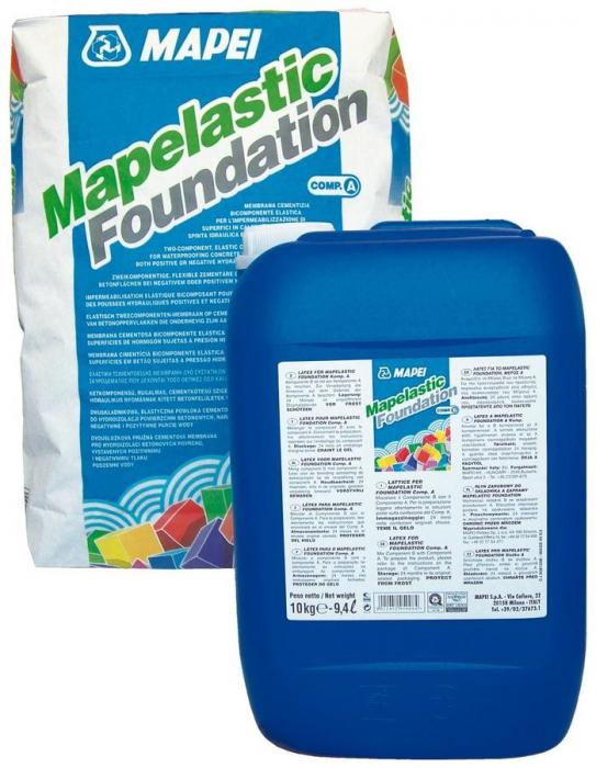 Hidroizolatie Flexibila Fundatii, Mapelastic Foundation 32kg [0]