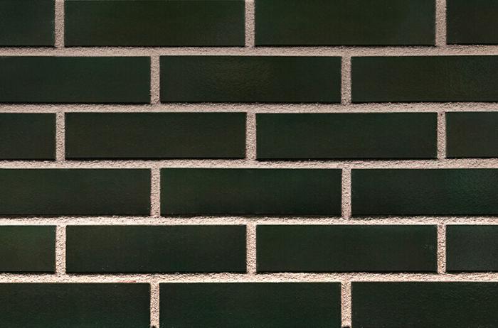 Placaj Ceramic Klinker 25 Green Hills / Verde Inchis 250 x 65 x 10 mm [0]