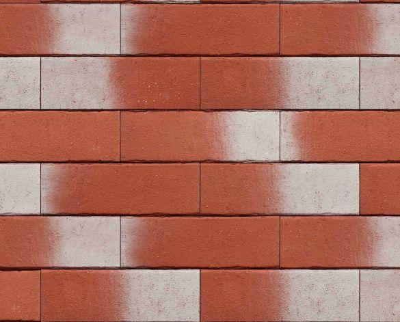 Placaj Ceramic Klinker Pelaris Maca Red 215 x 65 x 14 mm [0]