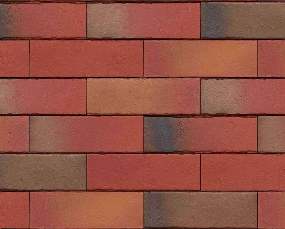 Placaj Ceramic Klinker Pelaris Peru Red 215 x 65 x 14 mm [0]