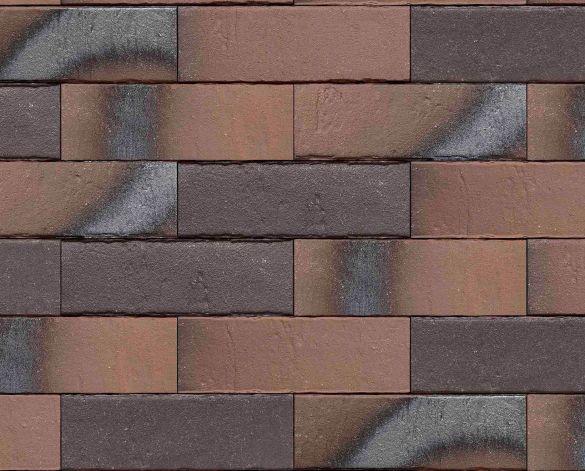 Placaj Ceramic Klinker Pelaris Maroon Brown 215 x 65 x 14 mm [0]