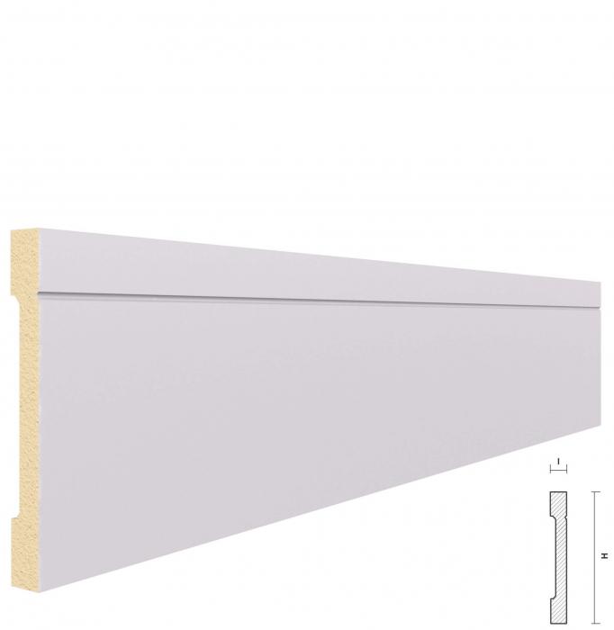 Plinta din Poliuretan PL4, 2m 0