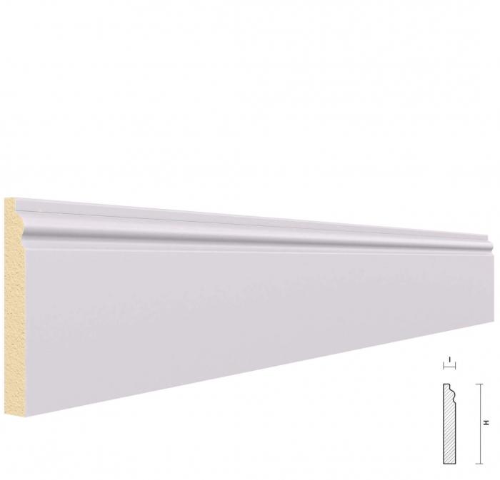 Plinta din Poliuretan PL5, 2m 0