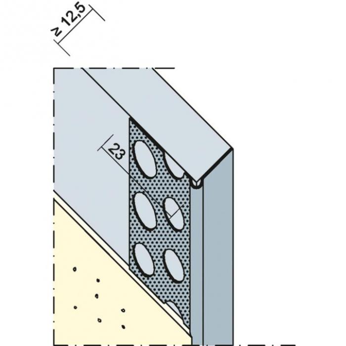 Göppinger Abschlussprofil - Profil Aluminiu pentru Cant Placi Gips-Carton, tip L [1]