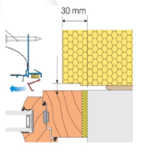 Profil de Legatura LS3 pentru Ferestre Prevazute cu Rulouri (pentru caseta metalica) 3