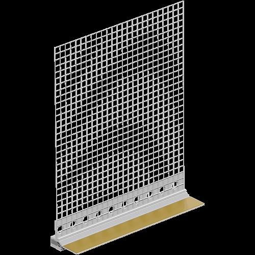 Profil Etansare si Conexiune Tamplarie Pentru Termosistem cu Lamela Giga Flex,  10mm, 2.4 m/buc, 60 m/ set|25buc [0]