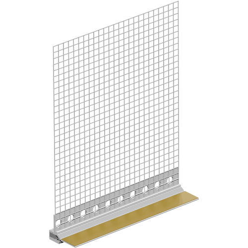 Profil Etansare si Conexiune Tamplarie Pentru Termosistem cu Lamela Giga Flex, 10 mm, 2.4 m [0]