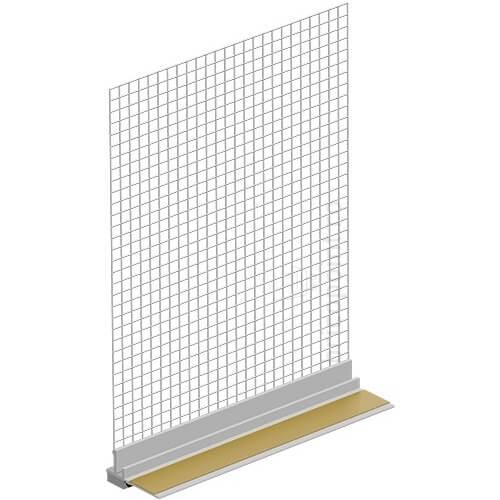 Profil Etansare si Conexiune Tamplarie Pentru Termosistem GAP09, 2.4m, 9mm, 72m/30buc 0