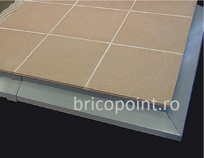 BalkonProfil Grau - Picurator Pentru Balcon sau Terasa Gri, 2 m 7