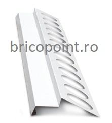 Balkonprofil weiß - Picurator Pentru Balcon sau Terasa, Alb, 2m 0