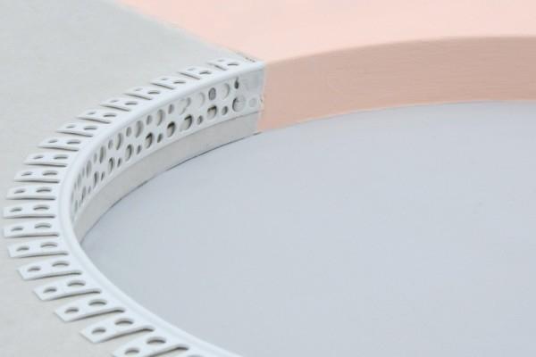 Coltar PVC Arcuibil pentru Bolte si Romanate 2.5 m 1