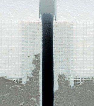 Dehnfugenprofil E grey - Element de Rost de Dilatatie Continuu 2.5 m 5