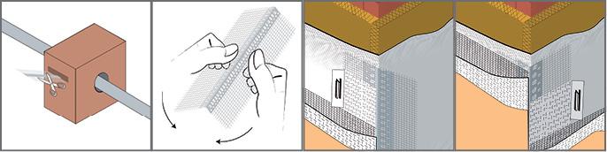 Rolleck - Coltar PVC cu Plasa cu Unghi Variabil 100x100/25 m [cutie cu rola de 25m] 2