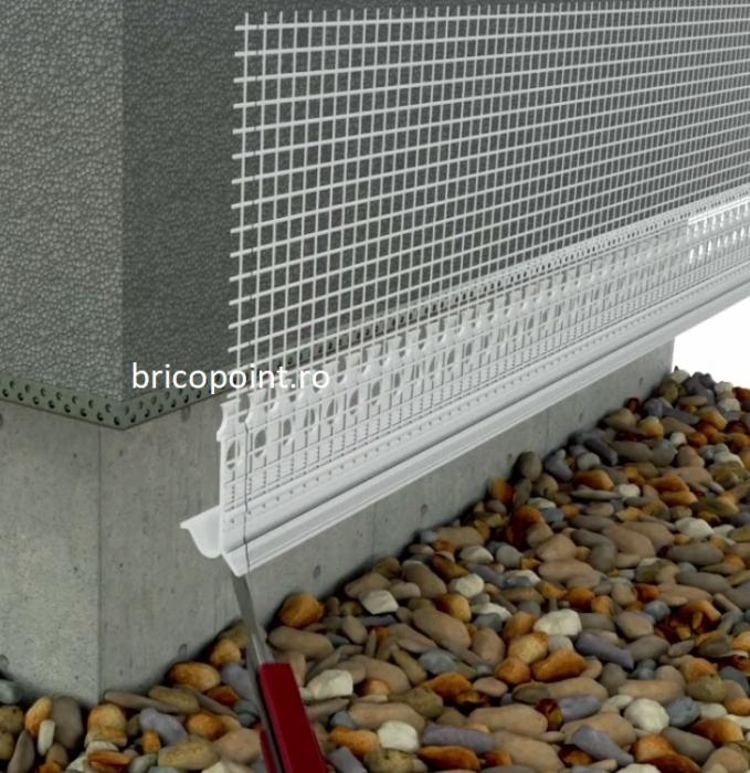 Sockelschienen AufsteckProfil G - Picurator G Pentru Profilul de Soclu din Aluminiu 05/ 2.5m 2