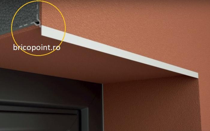 Tropfkante Mit Zuerkannter - Picurator Vizibil cu Plasa Utilizat la Fereastra, Balcon, Soclu, 2.5m 4