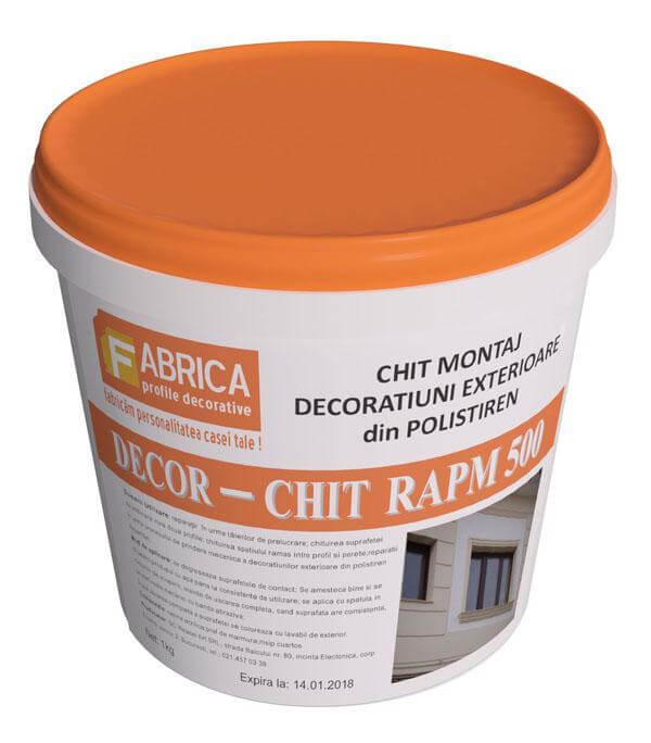 RAPM500 Chit pentru Imbinari si Reparatii Profile Decorative din Polistiren Laminat Cu Rasina, 1kg 0