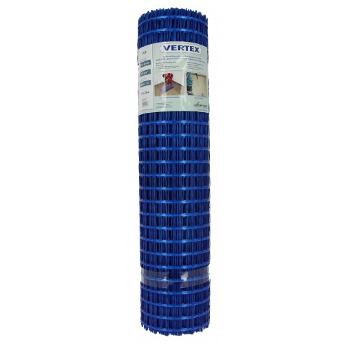 Plasa Fibra Sticla G96 de 130 g/mp pentru Armare Sape, Ochi 25x25 mm, 1x50 m, 50 mp/rola [0]