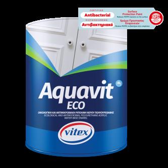 Vopsea Email pe Baza de Apa pentru Suprafete din Lemn, Aquavit Eco, Alb Satin [0]