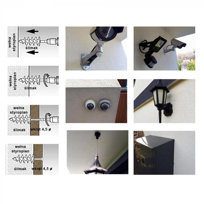 Wkret-Met Diblu Spiralat 85x28mm, pentru Fixari Obiecte in Termosistem 2