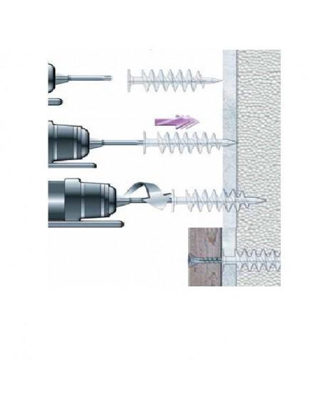 Wkret-Met Diblu Spiralat 85x28mm, pentru Fixari Obiecte in Termosistem 1