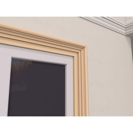 Ancadrament Fereastra pentru Exterior din Polistiren Expandat Laminat cu Rasina FP103, H 180 x L 80 mm, Lungime 2 m [3]