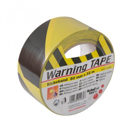 Banda de Avertizare Autoadeziva, Rezistenta la Intemperii Warning Tape 50 mm x 33 m [0]